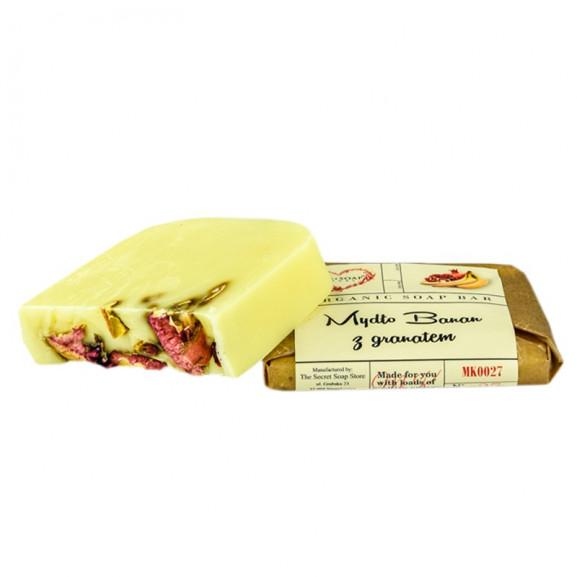 Glicerynowe mydło Banan z Granatem 110 g