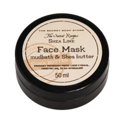 Maseczka do twarzy z borowiną i masłem Shea 50ml