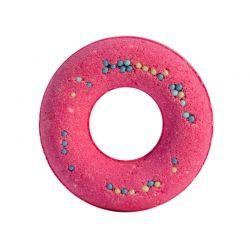 Musujący donut do kąpieli wiśnia 125g