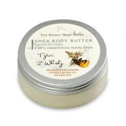Masło do ciała 80% Masła Shea Tytoń 200 ml