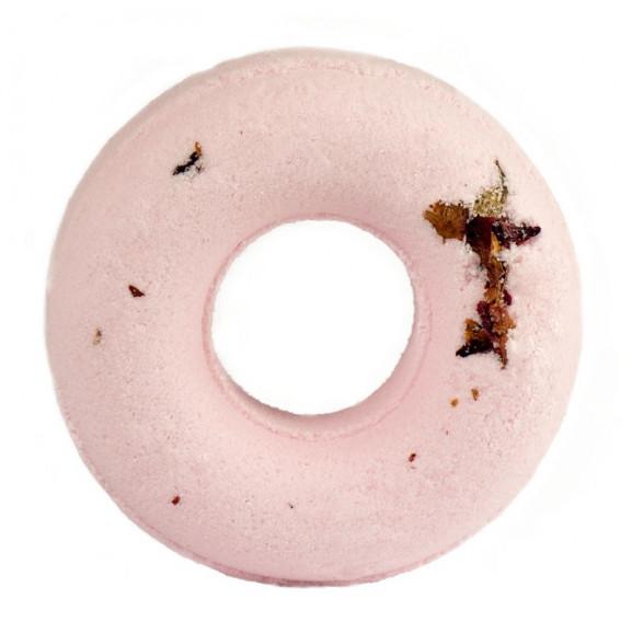 Musujący Donut do Kąpieli Róża 125 g