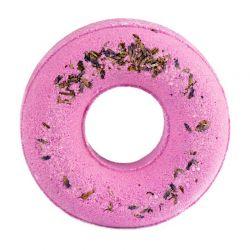 Musujący donut do kąpieli Lawenda 125 g