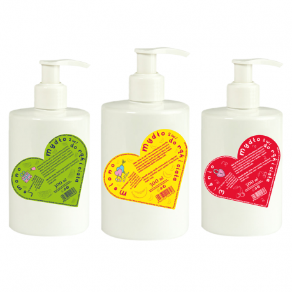 Zestaw mydeł do rąk i ciała w płynie 4 +1