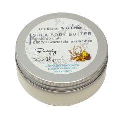 Masło do ciała 80% Masła Shea Bursztyn 200 ml