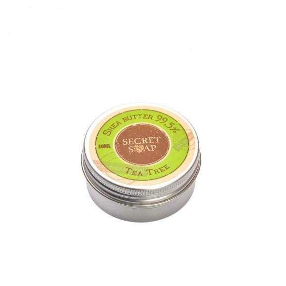 Masło Shea 99,5% Drzewo Herbaciane 30 ml