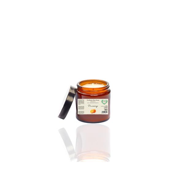 Świeca do aromaterapii - pomarańcza 120 ml