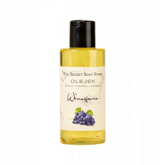 Olejek do ciała, kąpieli i masażu Winogrono 150 ml