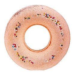 Musujący donut do kąpieli Pomarańcza 125 g