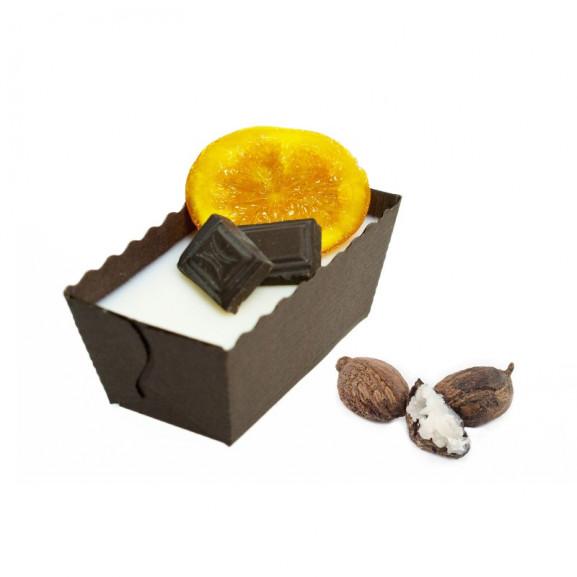 Masło Shea do ciała i masażu Czekolada z Pomarańczą 100g