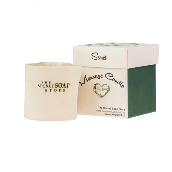 Świeca do masażu w ceramice Drzewo Tekowe 200 ml