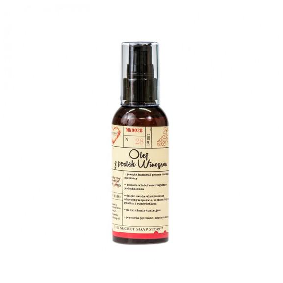 100% Olej z Pestek Winogron 100 ml